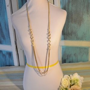 4 Strand Gold Necklace